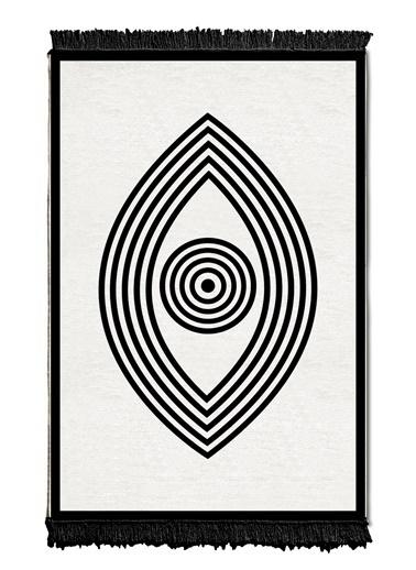 The Mia Kilim 180 x 120 Cm - Çift Taraflı Siyah